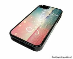 Amazon.com: Apple Iphone 5 or 5s Summer Heart Surf Surfing Dual Layer Impact Protector Rugged Tough Case Cover Skin Hipster Cute Design Blac...