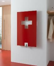 """Kermi Radiator - High quality """"Made in Switzerland"""" already at the first glance. For everybody who would like to show the flag in their personal living environment."""