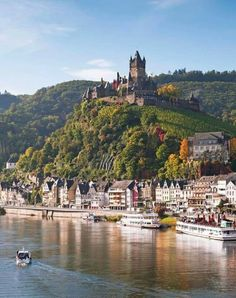 Reichsburg Castle »« Cochem, Germany »« via Wonderful Castles in the World on Facebook