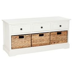 Storage Chest, I want to line these up under my windows in living room to store blankets and toys!