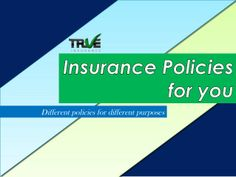 Insurance helps you in many critical situations in all your journey of life. You face ups and downs in life, but its good when you have support in those critical times. Details: http://www.trueinsurance.com.au/