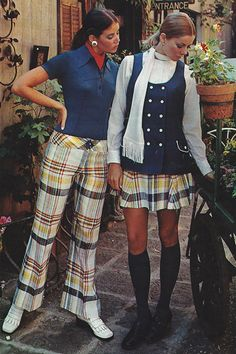 February 1970 - Yikes, I actually had a pair of pants similar to these!