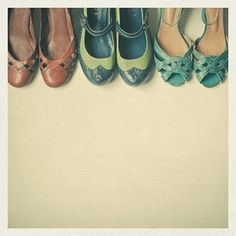 Art vintage happy-feet