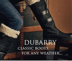 Ladies Dubarry Boots from Andersons of Durham - WANT THESE