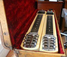 Vintage Fender D-8 Stringmaster Lap Steel Guitar w/ OHSC - NR