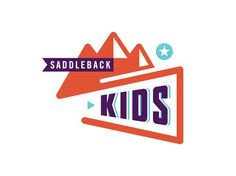 ty saddlebackkids 02 B Modern Logo Design, Name Logo, Kids Logo, Cool Logo, Graphic Design Inspiration, Typography, Branding, Logos, Icons
