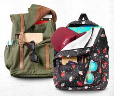 Packed Up: Backpacks