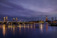 Blue hour at Kampen