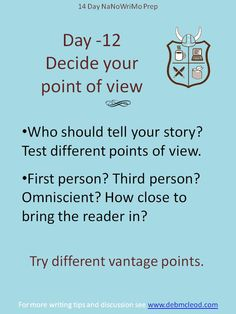 In a story, can you go from third person into first?