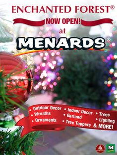 find everything you need to spread christmas cheer this year at menards