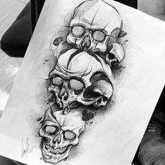 Our Website is the greatest collection of tattoos designs and artists. Find Inspirations for your next Skull Tattoo. Search for more Tattoos. Skull Tattoo Design, Skull Design, Skull Tattoos, Leg Tattoos, Body Art Tattoos, Sleeve Tattoos, Tattoo Designs, Small Sister Tattoos, Little Tattoos