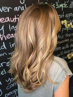 honey gold blonde highlights More