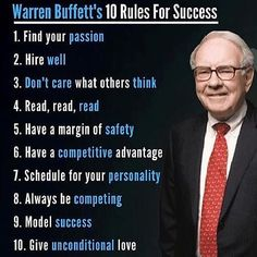10 rules for Success. Secrets to success. Success tips & quotes. Quotes Dream, Life Quotes Love, Wisdom Quotes, Woman Quotes, Rich Quotes, Wealth Quotes, Business Motivation, Business Quotes, Business Tips