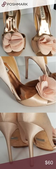 b78d6797c6 Spotted while shopping on Poshmark: Badgley Mischka Blossom Randall Satin  Heel! #poshmark #