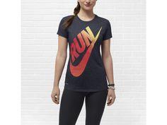 Nike Cruiser Swoosh Flag Women's Running T-Shirt - $28
