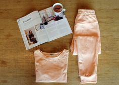 Pyjama von La Maison Victor kostenlose Schnittmuster zum Nähen und Drucken