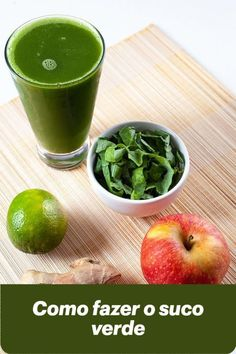 Um suco gostoso e nutritivo Aprenda como fazer suco verde, o suco mais queridinho do momento. Uma receita fácil, para fazer no dia a dia e que com #sucoverde