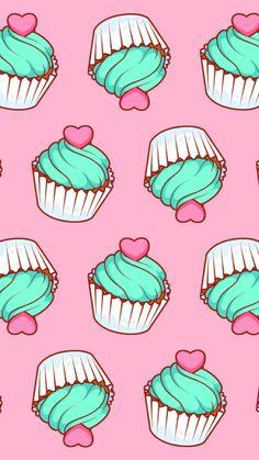 Cupcake Wallpaper More