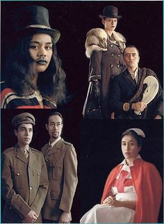 Lisa Reihana | Native Portraits | Multi-media installation Variable | 1997 | Asianart.com