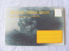 Postcard Booklet - Mount St. Helen's Volcano Washington