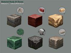 Stones study by Mykamyu.deviantart.com on @DeviantArt
