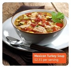 Mexican Turkey Soup
