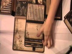 Prima Photo Folio #2 Also has #1 on youtube.  She used and adapted Kona Raven's tutorial