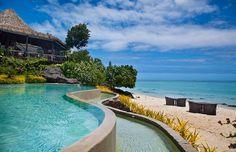 Breathtaking view from Pacific Resort Aitutaki !