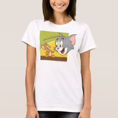 Shop Tom and Jerry Hanna Barbera Logo T-Shirt created by tomandjerry. Personalize it with photos & text or purchase as is! Hanna Barbera Logo, Tom And Gerry, Tom And Jerry Cartoon, Wardrobe Staples, Toms, Cute Outfits, T Shirts For Women, Casual, Mens Tops
