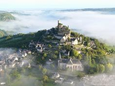 Back in the Middle Ages, a medieval village in central France. The imaginary gallops!
