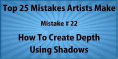 Artist Mistake #22 – Not Adding Shadows