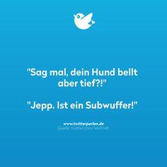 Subwuffer...