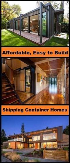 #containerhouse Shipping Crate Homes, Shipping Container House Plans, Shipping Container Design, Shipping Crates, Container House Design, Shipping Containers, Shipping Container Buildings, Metal Containers, Container Homes For Sale
