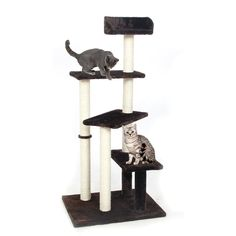 Eteng Cat Tree Pet Home Furniture Cat Tower Toys Scratching Post (brown) *** Visit the image link for more details. #CatScratchersandFurniture