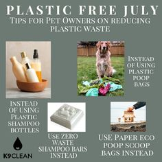 Tips on reducing pet waste!