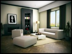 The Making Of Sketchup Living Room