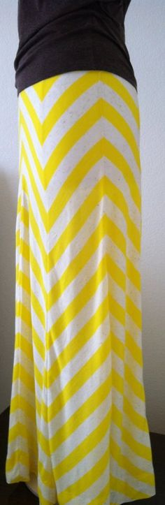 The Annabelle Chevron Maxi Maxine XS S M L by DaintyButton on Etsy