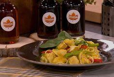 Nouilles au poulet, coco, érable et cari Poulet General Tao, Mug Recipes, Easy Recipes, Cabbage, Paleo, Lime, Easy Meals, Asian, Chicken