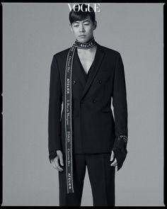 Vogue Korea Magazine 2018 for About Time starring Lee Sung-kyung and Lee Sang-yoon Lee Sang Yoon, Lee Sung Kyung, Blue Lee, Japanese Oni, Korean Fashion Men, Lee Jung, Vogue Korea, Turkish Actors, Fashion Shoot