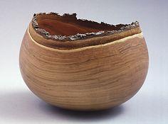 Bill Luce - Natural Edge Cherry Bowl