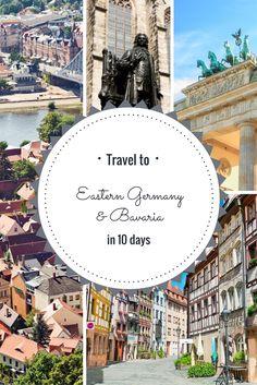 Train tour through Bavaria & Eastern Germany