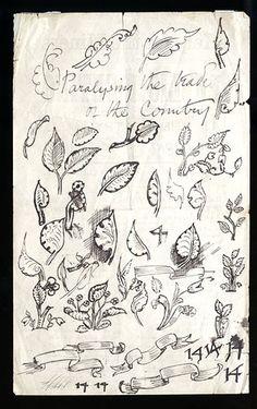William Morris sketches