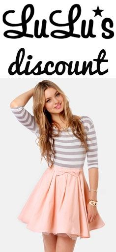 How to get a discount at LuLu*s http://stackdealz.com/deals/LuLu--39-s-Coupon-Codes-and-Discounts--/
