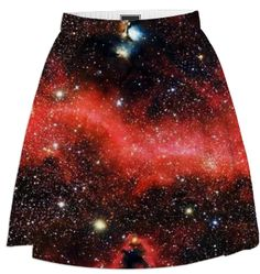 Galaxy Pink Summer Skirt - Available Here: http://printallover.me/collections/sondersky/products/galaxy-pink-2
