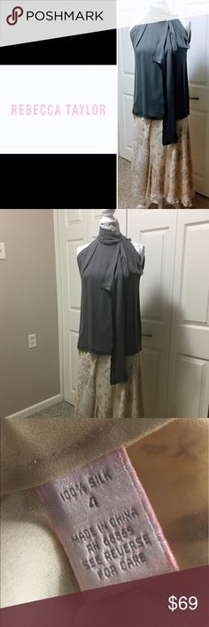 "RARE REBECCA TAYLOR 100% SILK FLORAL SKIRT In EUC is a 100% silk, Authentic, Rebecca Taylor floral skirt. Beautiful, subtle colors cream, beige, blue. Lined. Side closure (3 buttons) Approximately 32""L. Absolutely gorgeous! Comes from a smoke free home 🏡 Bundle & save! Rebecca Taylor Skirts Midi"