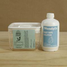 All natural Baby Wipe Kit - Wendyls