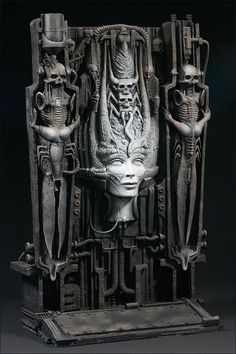 McFarlane's GIGER. I don't think of it as an action figure, but 3D art......... .