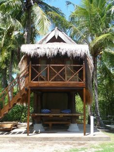 BBC Boracay says: Tropical lifestyle at it`s best. Discover the Philippines. Pole House, Hut House, Tropical Beach Houses, Dream Beach Houses, Bamboo House Design, Jungle House, Beach Shack, Beach Huts, Beach Cottage Style