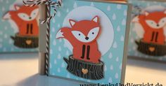 Lenky & Verzickt: A Foxy Sticky Note Thank You - I made a little booklet for sticky notes and a small pen as gifts for my fellow Dutch class students using the Foxy Friends from Stampin' Up!