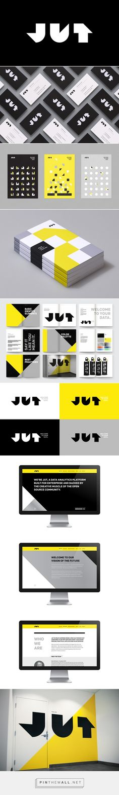 Jut – Visual Identity System by Moniker SF                                                                                                                                                                                 Plus